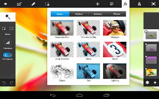 Adobe Photoshop Touch resimi 4