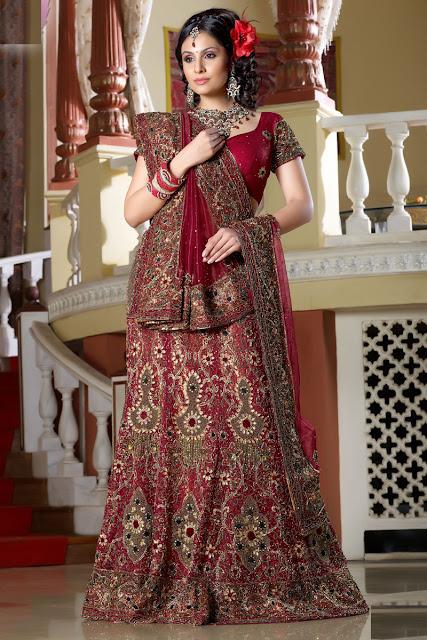 New Trend Bridal Lehnga Design Art