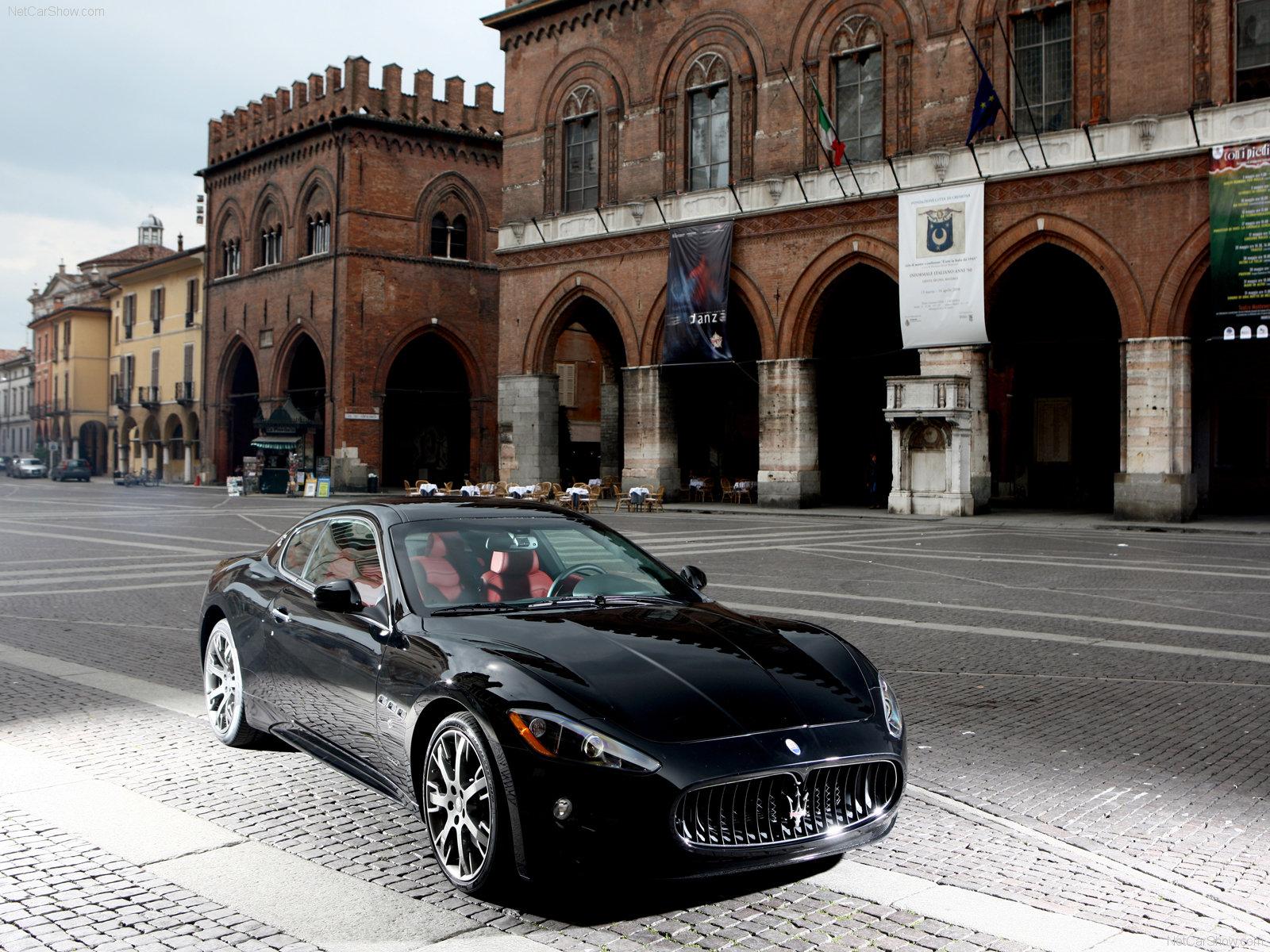 Hình ảnh siêu xe Maserati GranTurismo S 2009 & nội ngoại thất