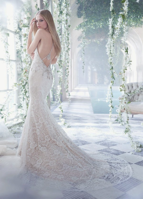 Romantic Wedding Dresses by Alvina Valenta