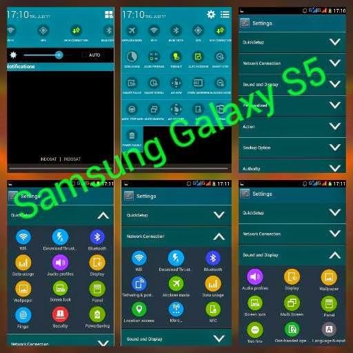 ROM GALAXY S5 Untuk ADVAN S3A