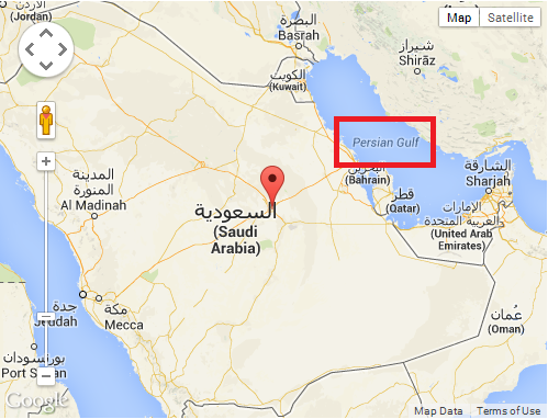 Arab it change label from persian gulf to arabian gulf in google maps gumiabroncs Gallery
