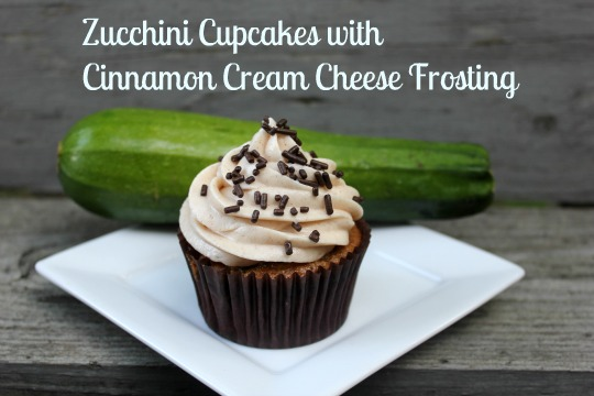 ... My Pink Mixer: Zucchini Cupcakes with Cinnamon Cream Cheese Frosting