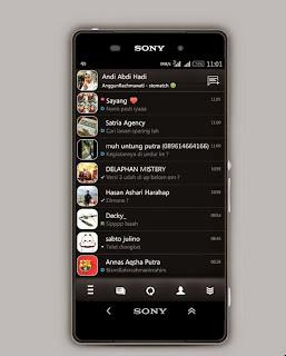 BBM Mod Black Revolutions v3.1 Apk
