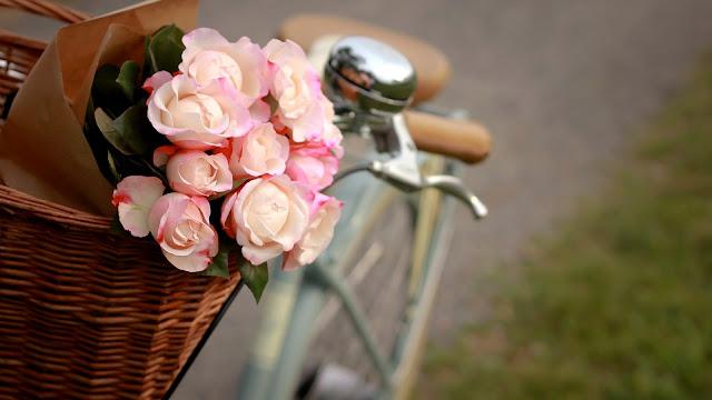 Flores rosadas Dia de las Madres