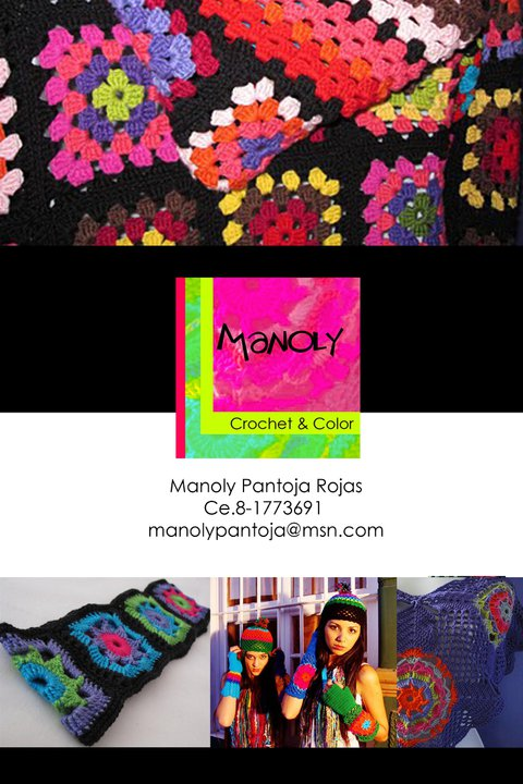 MANOLY, Crochet & Color