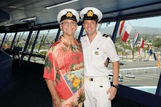 Gavin MacLeod Meets Gavin MacLeod on Island Princess