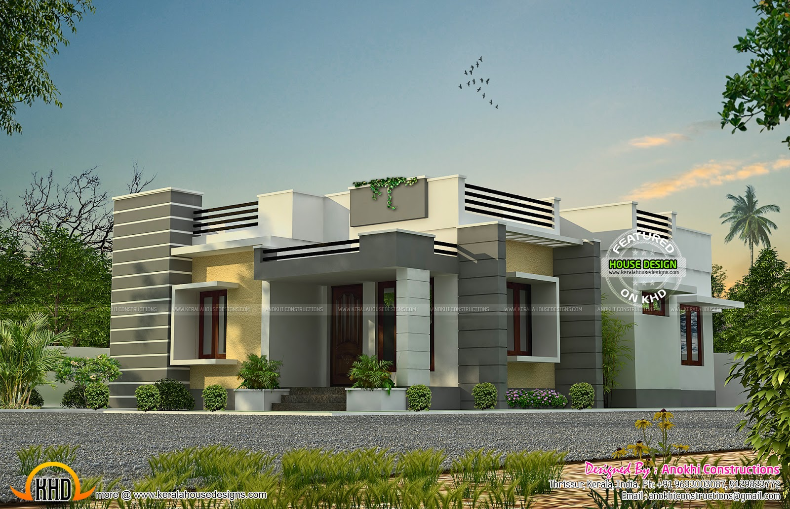 space saving home design kerala home design and floor plans