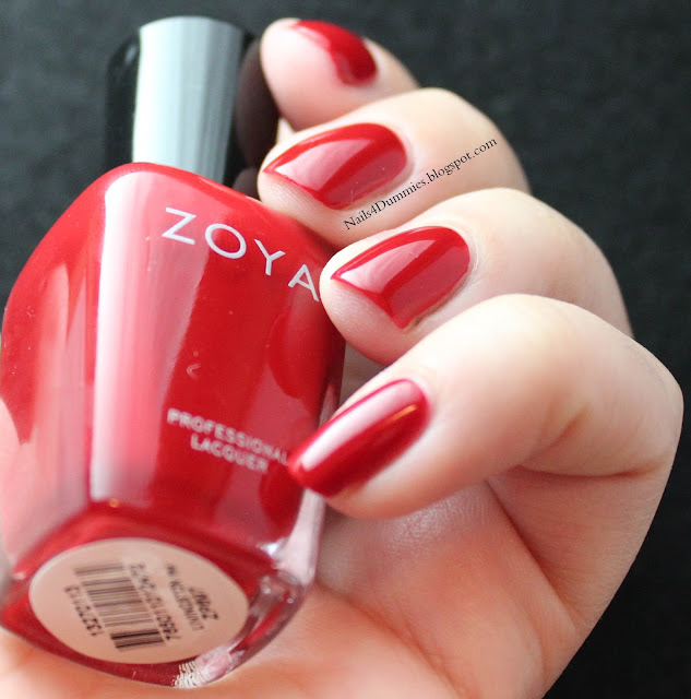 Nails4Dummies - Zoya Fall 2013 Cashmeres - Livingston