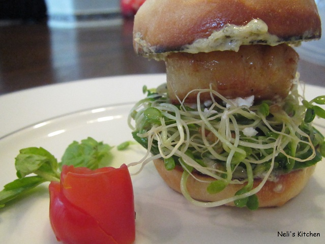 Mini Burger Scallop