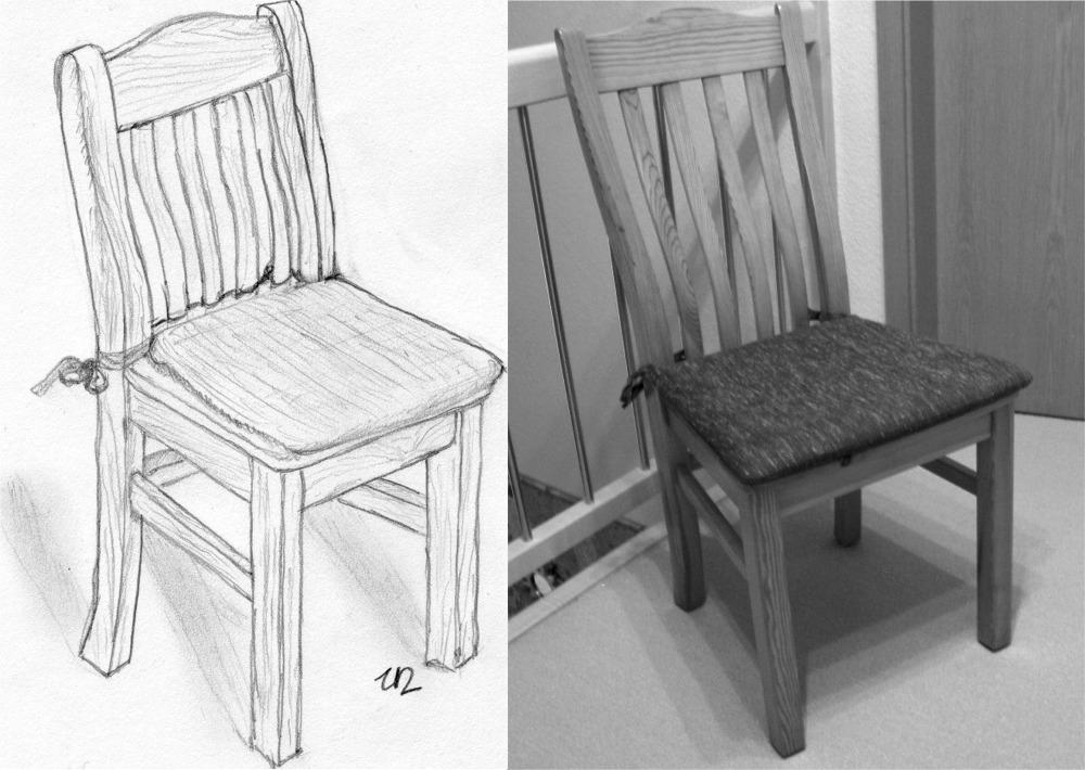Stuhl bleistiftzeichnung  Nauhuri.com | Stuhl Gezeichnet ~ Neuesten Design-Kollektionen für ...