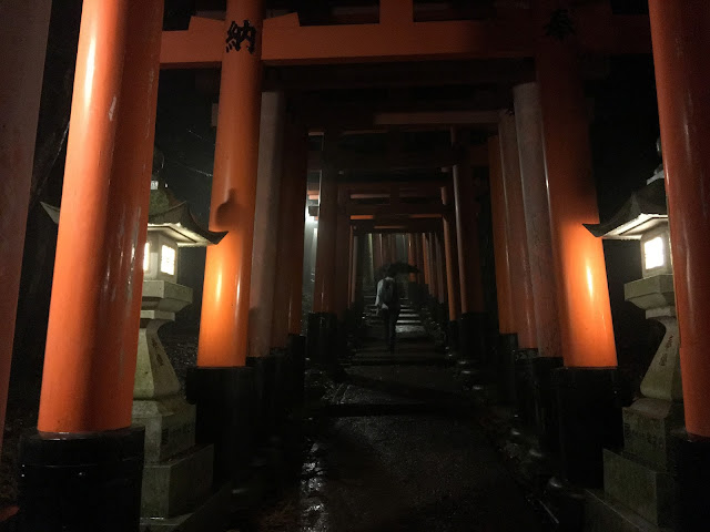 Kyoto Trip: Fushimi Inari Taisha at night shrine