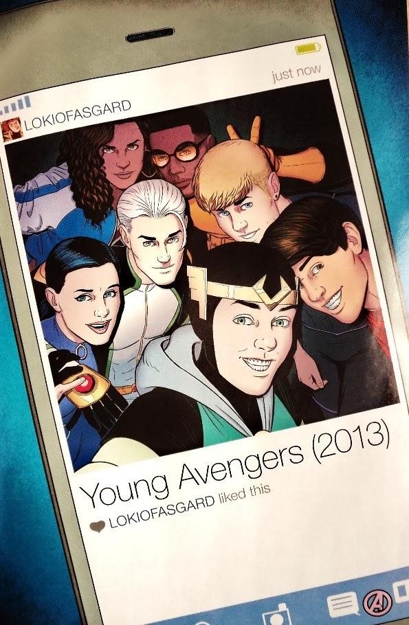 Young Avengers # 15 - Gillen, McKelvie more