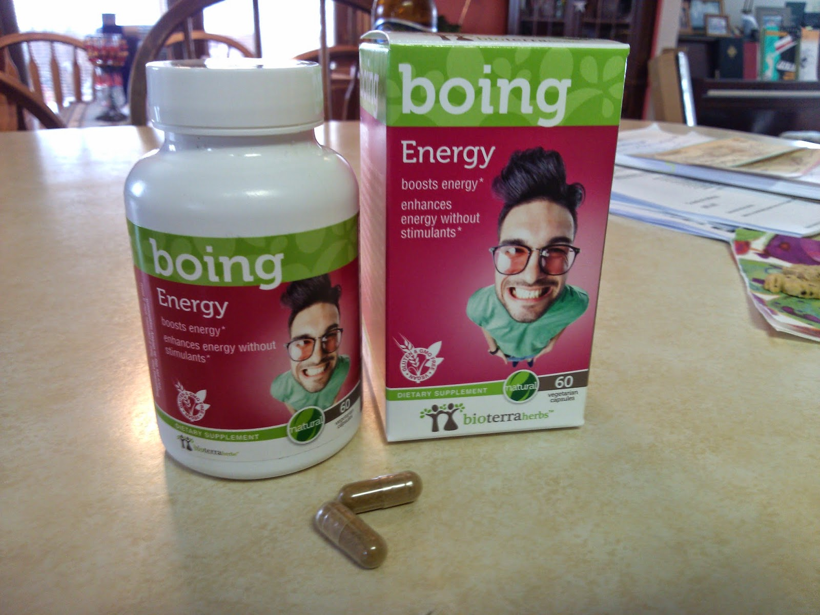 BioTerra Boing Energy Herbal Supplement Review