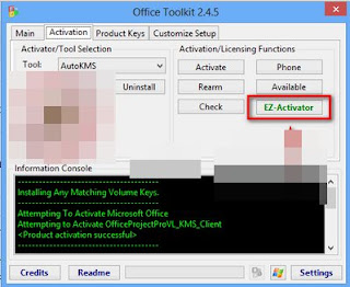 Microsoft Toolkit 2.4.5 Free for Active Microsoft Office