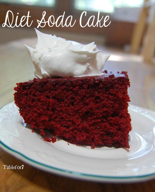 Diet Soda Cake • Table for Seven