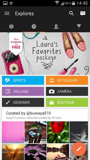 3 applis photos : Belles images et zigouigouis!