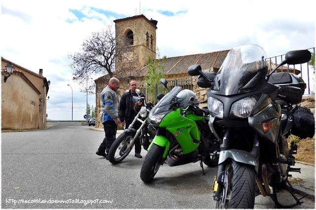 motos en Torrecaballeros, Segovia