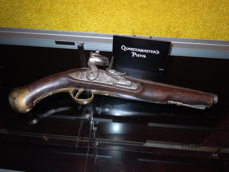 Pirates of the Caribbean 4 Quartermaster pistol prop