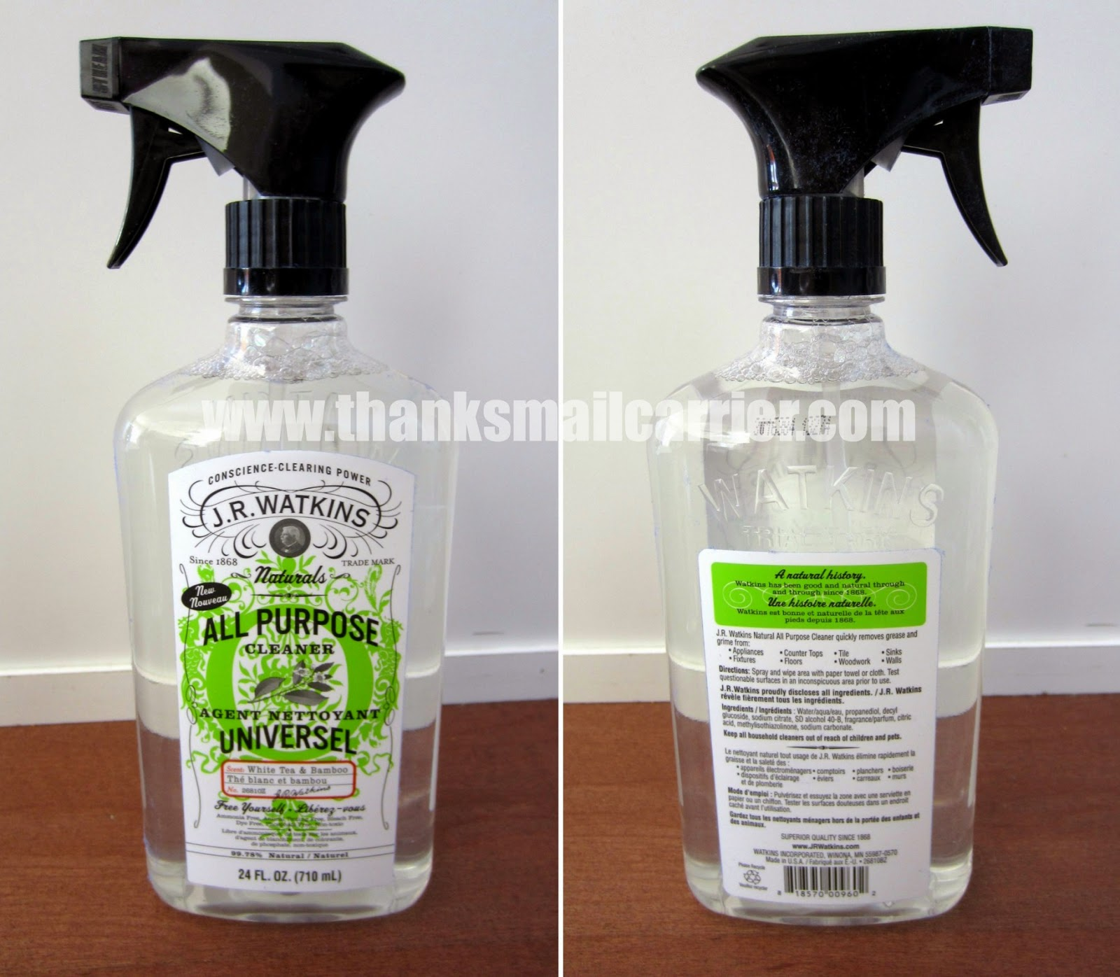 J.R. Watkins natural cleaner