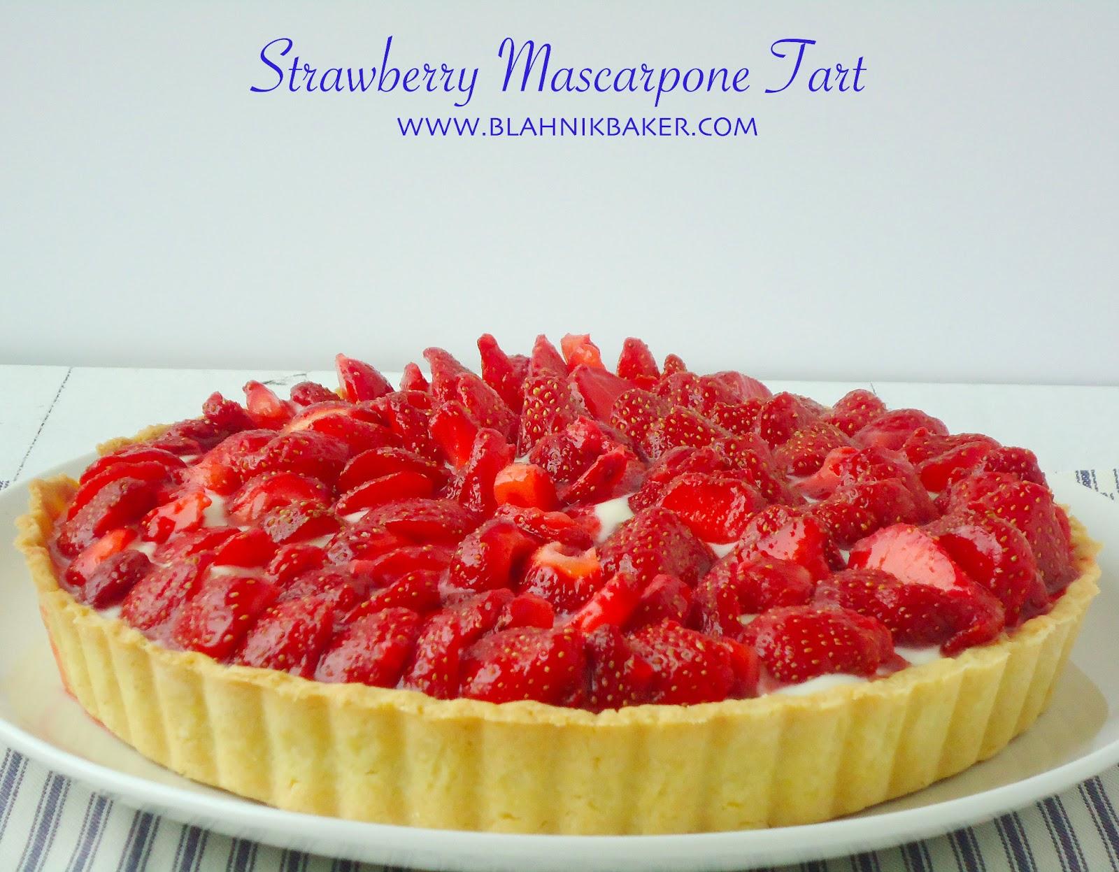 tart drunken pumpkin bourbon tart with mascarpone cream strawberry ...