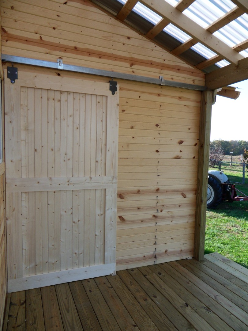 Life of Gregory D: Garden Shed - Day 15-18 - Doors, Trim ...