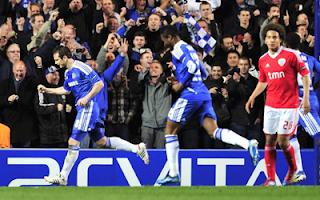 أهداف مباراة تشيلسي وبنفيكا 2-1 في دوري ابطال اوروبا 4-4-2012