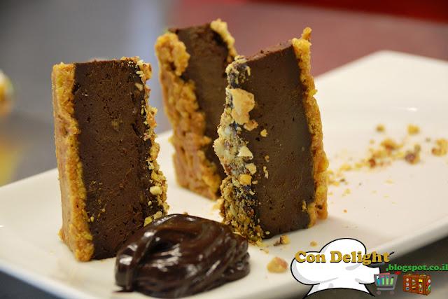 פירמידת שוקולד טבעוני chocolate pyramid vegan