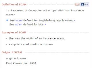DMA Portland Scam