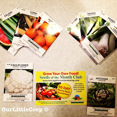 mike the gardener enterprises urban gardening seed of the month backyard greenhouse organic non gmo