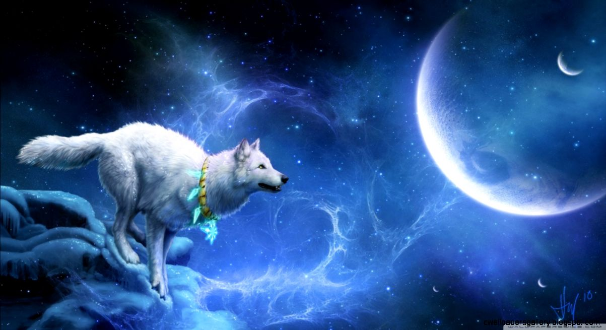 White Wolf Anime Size 1280x720 30128
