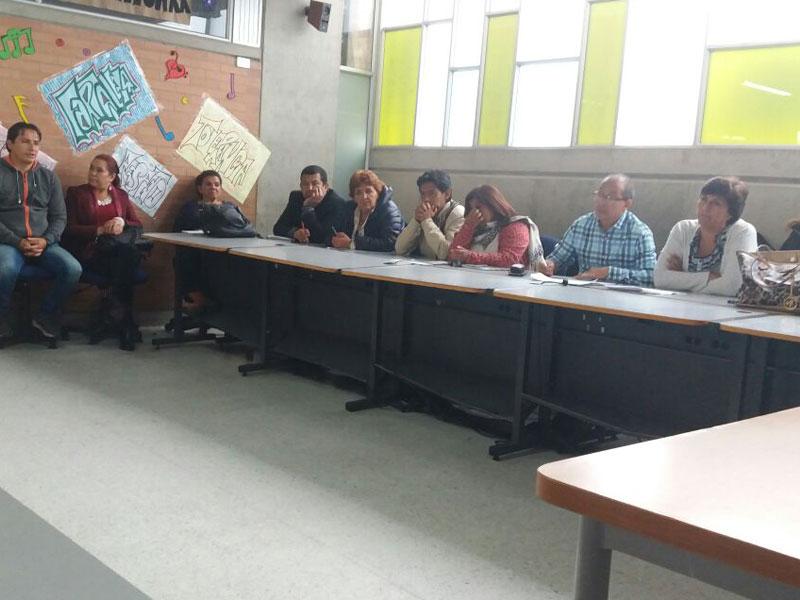 Comunidad del Colegio Divino Maestro hizo respetar el derecho a la educación