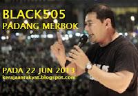 Black505 Padang Merbok Kerajaan Rakyat sediakan bantuan perubatan