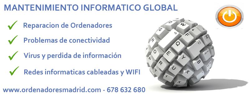 Mantenimiento informatico ordenadores madrid - Mantenimiento informatico madrid ...