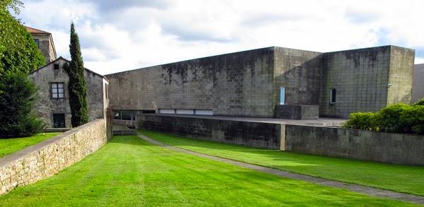 Centro Gallego de Arte Contemporáneo de Alvaro Siza. Santiago de Compostela