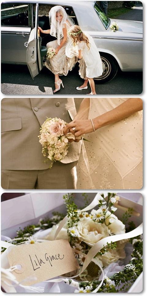 kate moss wedding bouquet, kate moss brudbukett