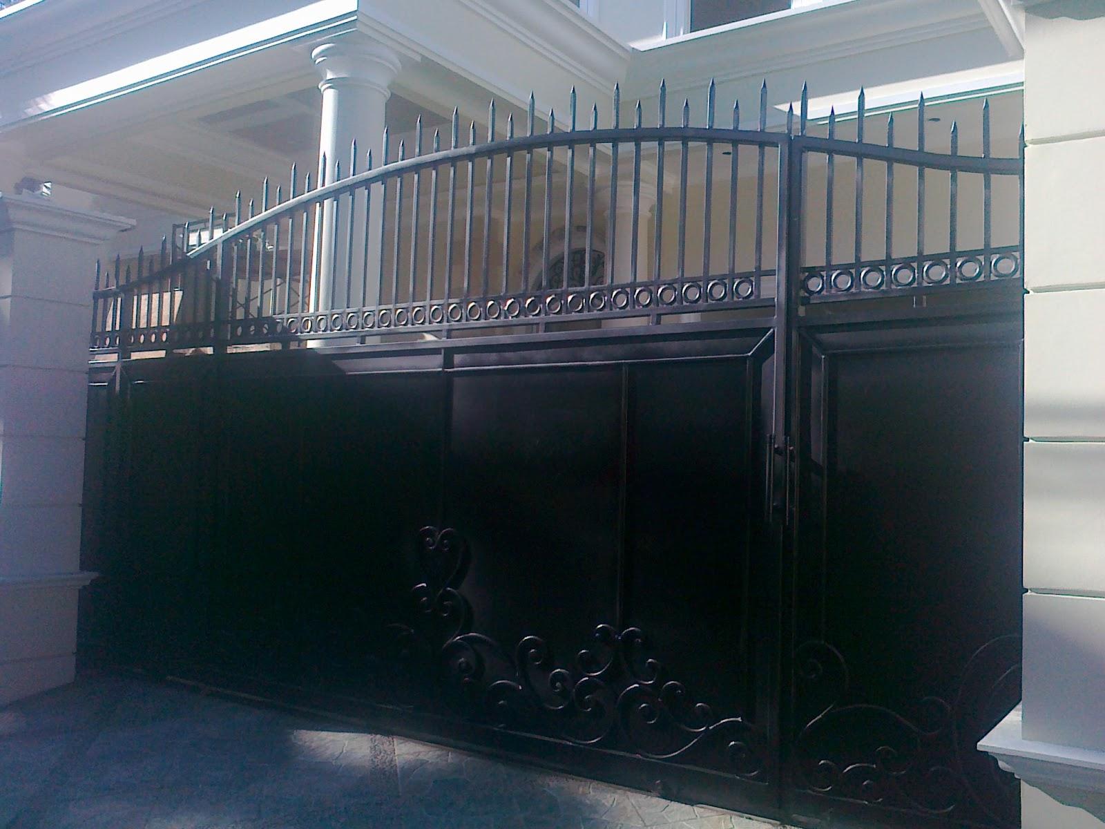 dasata karya besi tempa pagar dan gerbang