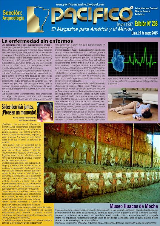 Revista Pacífico Nº 208 Arqueología