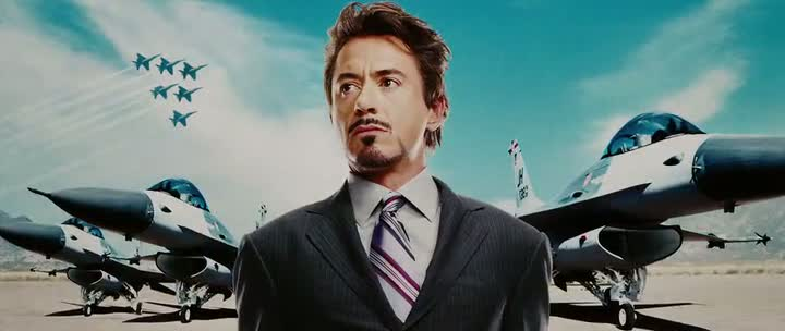 Screen Shot Of Iron Man Movies 1 & 2 Dual Audio Movie 300MB small Size PC Movie