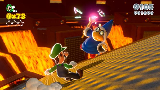 Super Mario 3D World on Wii U Screenshots