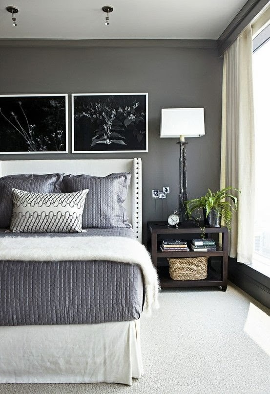 shown here mixed with white kendall charcoal works well for a bedroom