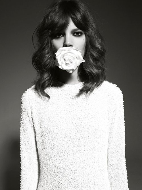 fashion,freja beha erichsen,flower,fashion flower,fashion blog,@limitlessfashion.blogspot.com
