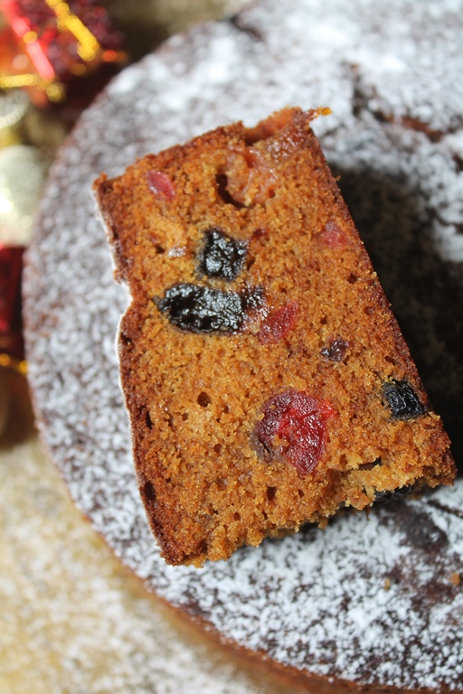 plum fruit fruit cake