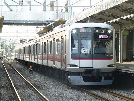 西武狭山線 各停 西所沢行き 東急5050系
