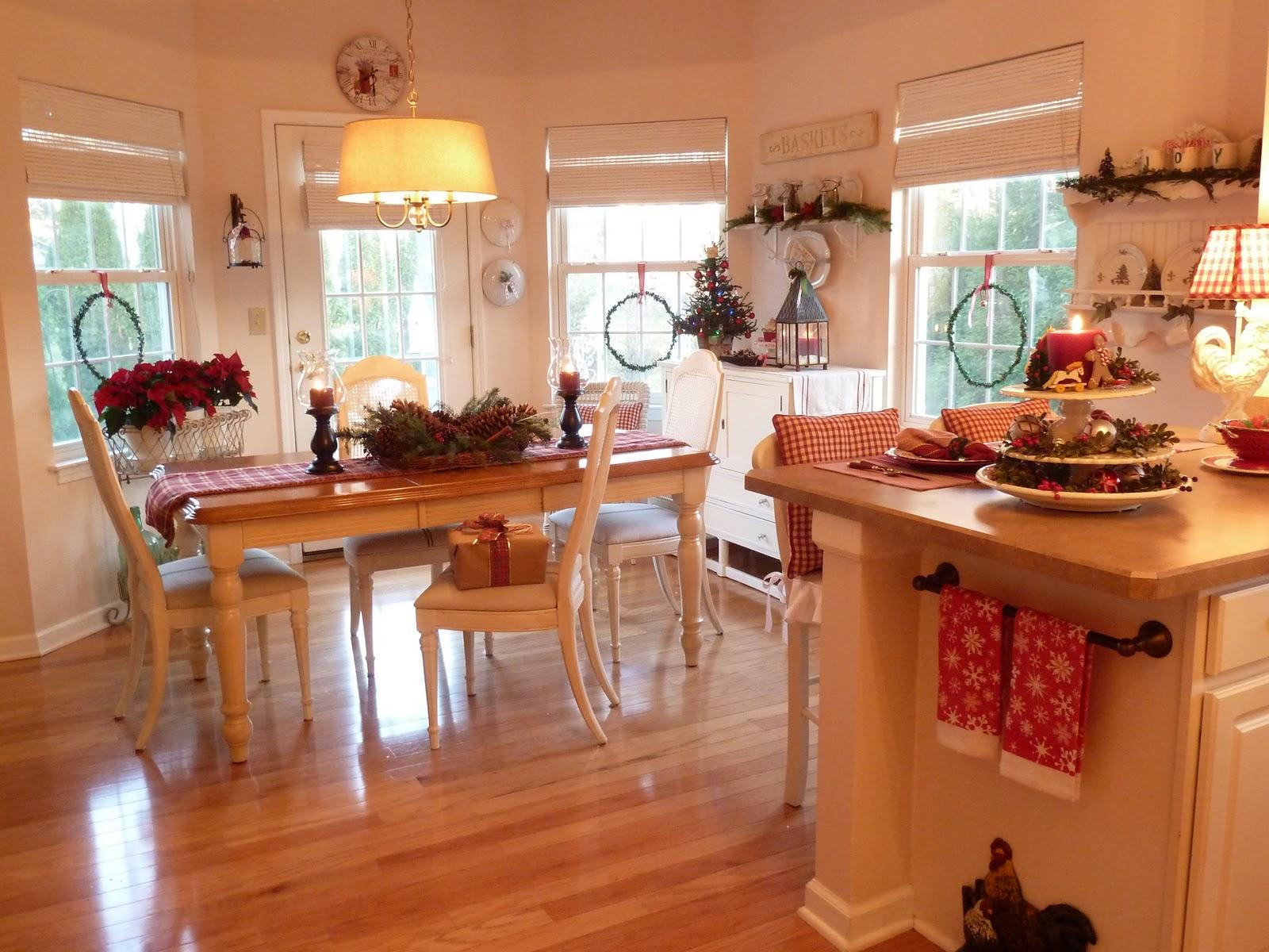 #A74B24 Ideias de Decoração Natalina para Cozinha e Sala de Jantar Design  1600x1200 píxeis em Decoracao De Natal Sala De Jantar