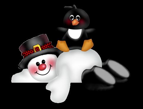 Imagens png bonecos de neve de natal central photoshop - Clipart bonhomme de neige ...