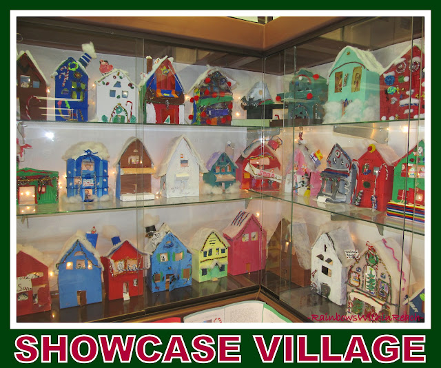 photo of: A Three Dimensional Snow Covered Village via RainbowsWithinReach