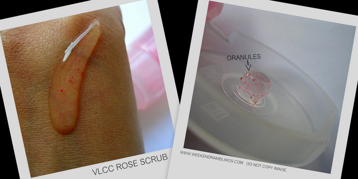 VLCC Skin Defense Rose Scrub Review Indian Beauty Skincare Makeup Blog