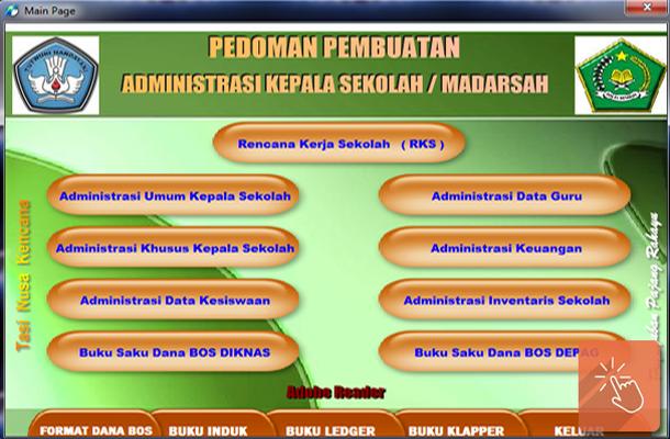 Pedoman Pembuatan Administrasi Kepala Sekolah / Madrasah