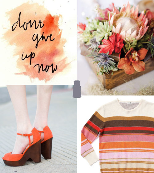 StyleAndPepperBlog.com : : Four to Adore // Peachy Keen